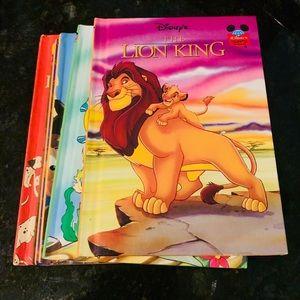 6 Vintage Disney Classics Children Books Bundle